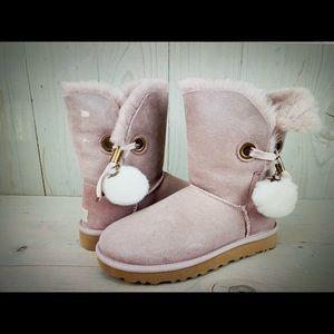UGG Irina star charm dusk pink women's boots